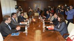 Reunión mantenida entre el titular del MINETUR y el presidente de la JCCM