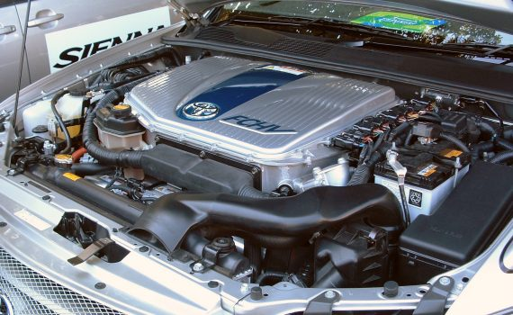 Vehiculo impulsado por hidrógeno